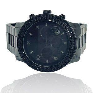 MICHAEL KORS Black Out Ceramic Swarovski Watch